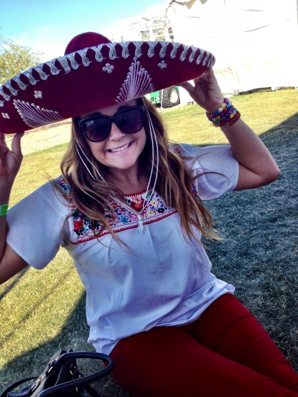 Amy Black, Arizona Taco Festival, Sombreros, girl in sombrero, mexican clothing