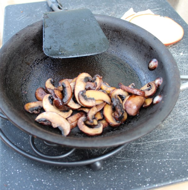 sautéed mushrooms, baby bella mushrooms, sliced mushrooms, mushroom burger, recipe, food