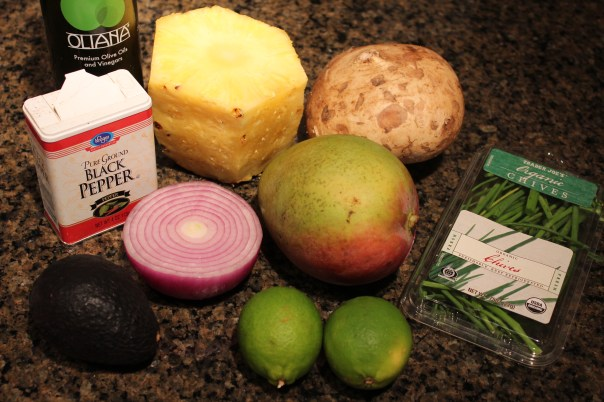 Mango Jicama Salsa Ingredients