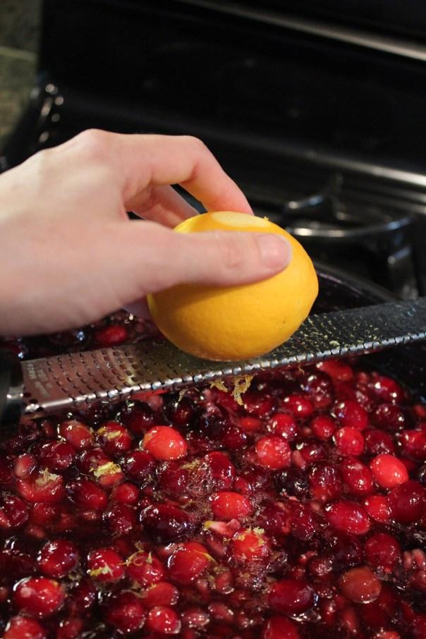 Cranberry Pomegranate Pie Filling