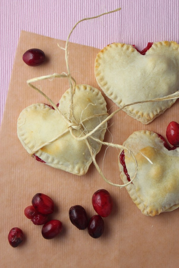 Cranberry Pomegranate Pies