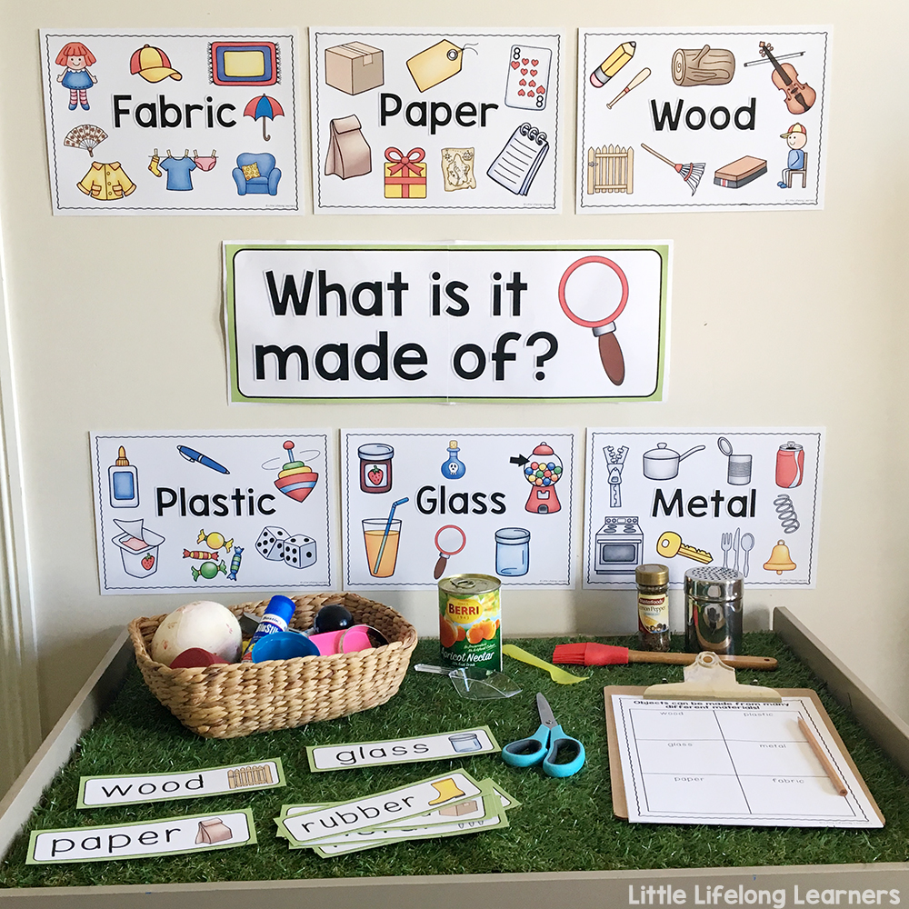 medium resolution of Exploring Materials and Their Properties - Little Lifelong Learners