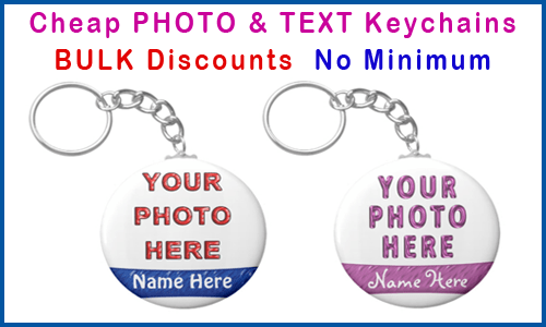 personalized key rings customized
