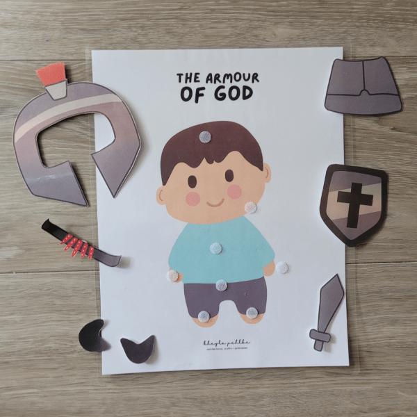 Armor of God Printable