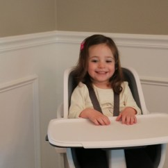 4moms High Chair Review Lazy Boy Recliner Repair Little List A Was So Excited For Her New She Couldn T Wait To Sit In It From The Minute Came Out Of Box After Done Playing With Massive