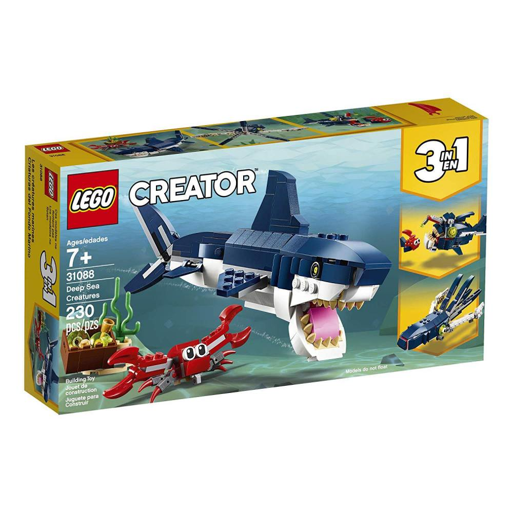Photograp of LEGO CREATOR - Deep Sea Creatures set.