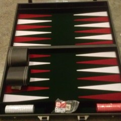 Backgammon Game (online giveaway)