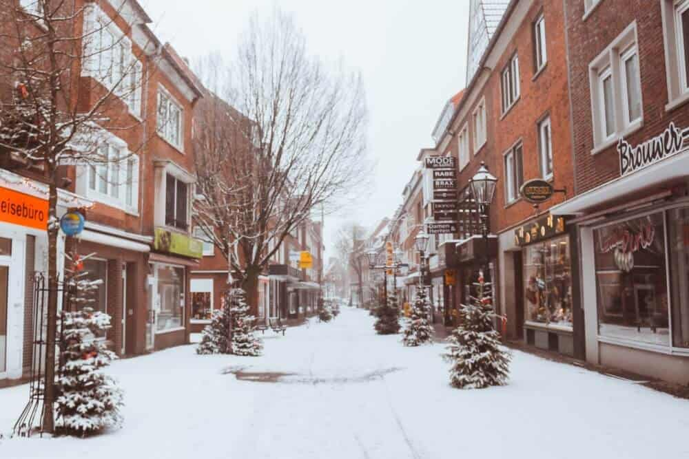 Emden in Germany is a beautiful winter mini-break
