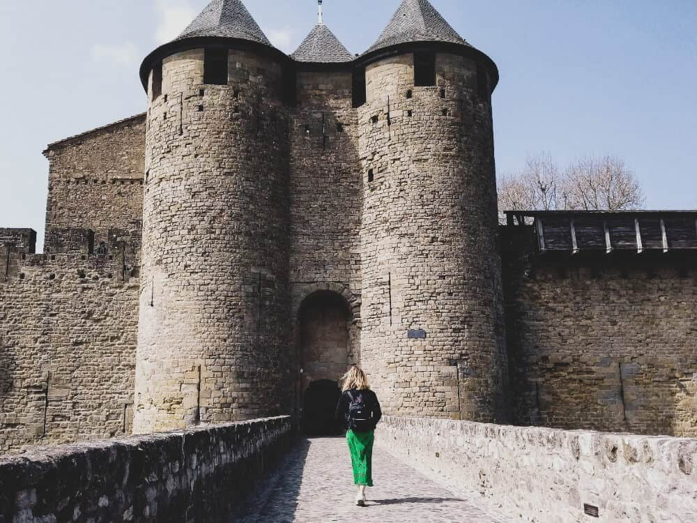 Introvert in Carcasonne in France