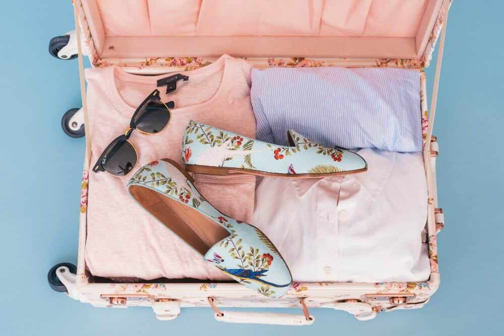 pack a carry-on with a capsule wardrobe