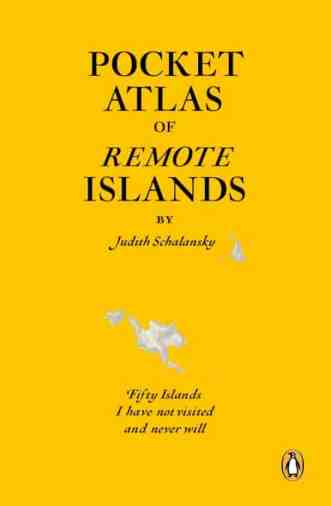 Book cover of Pocket Atlas of Remote Islands for top responsible travel books.