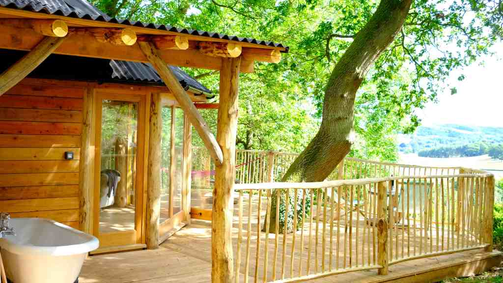 sustainable glamping sites in the UK