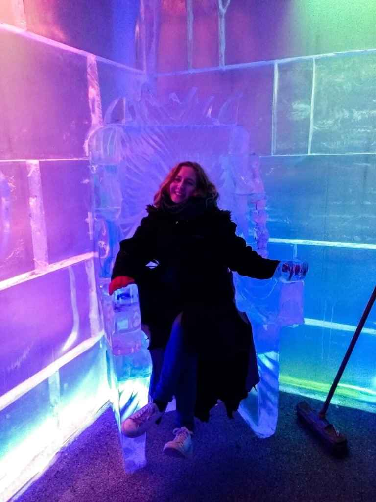 Ice bar for Queenstown itinerary