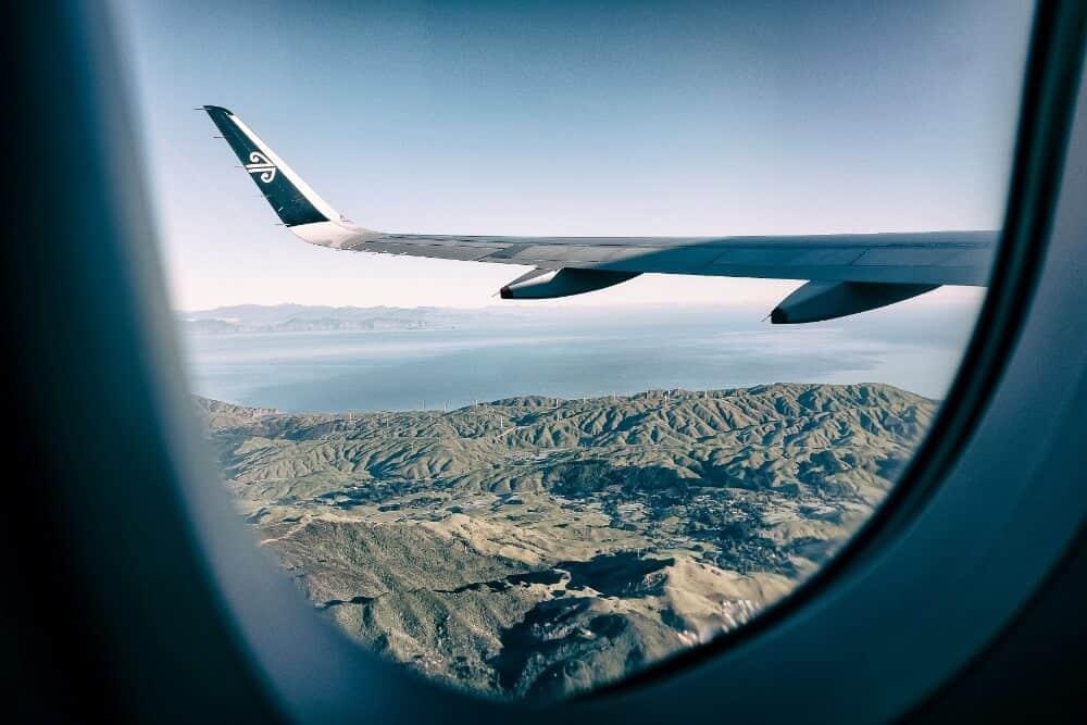 environmental guilt - taking a flight