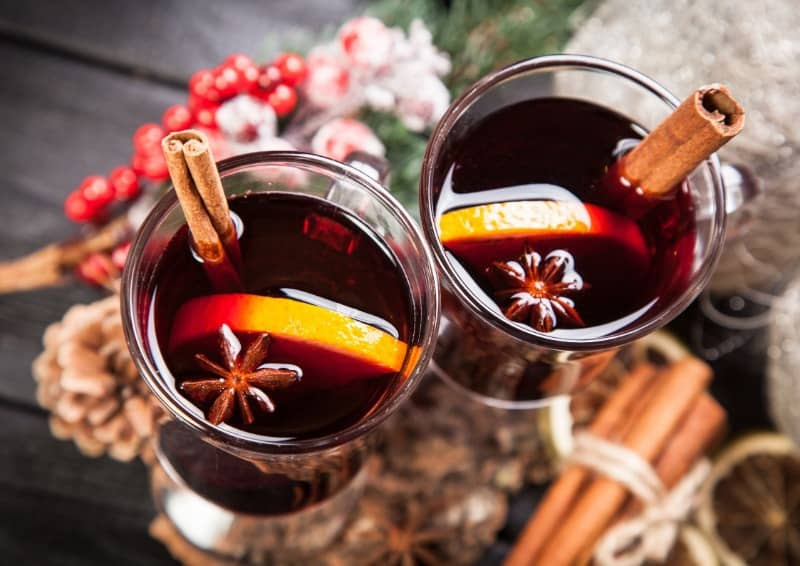 Nothing says Christmas like mulled wine