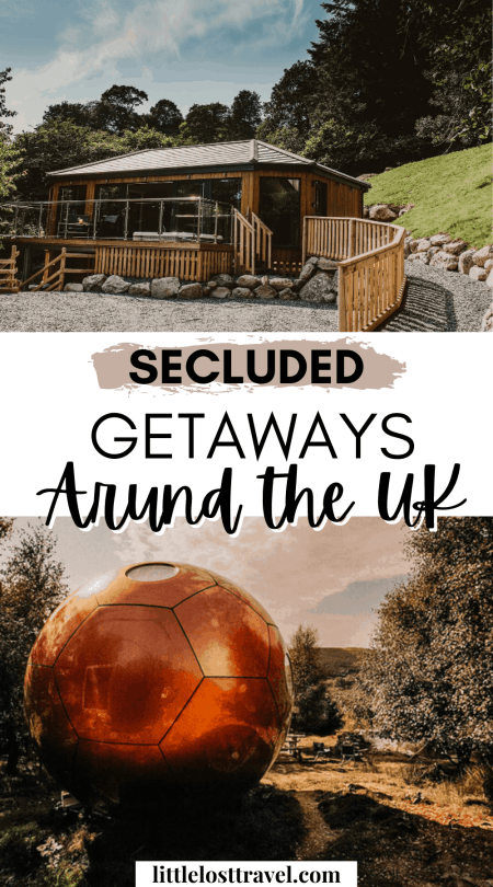 Enjoy the tranquility of nature with these top 10 secluded getaways and places to stay across the UK. Each getaway is perfect for solo travellers and couples on a romantic break. Featuring eco-friendly cabins, cosy cottages and unique glamping sites for nature lovers. Read more to discover budget and luxury weekend breaks.