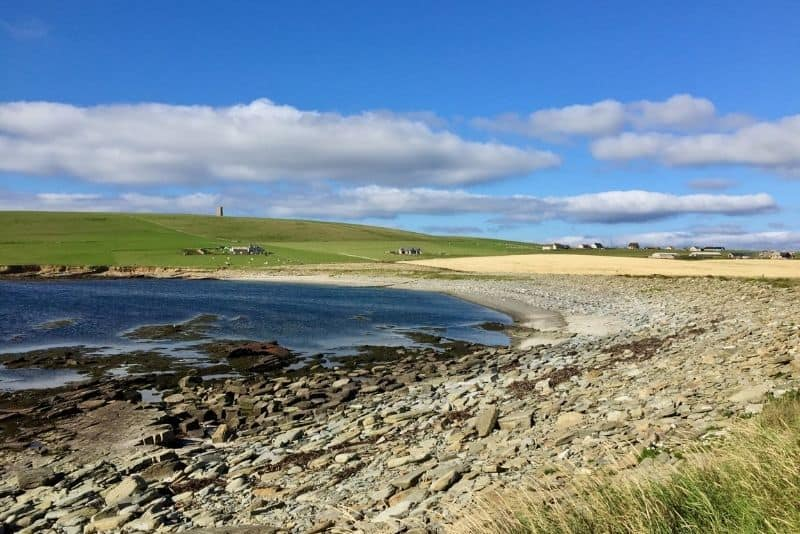 Orkney islands beach