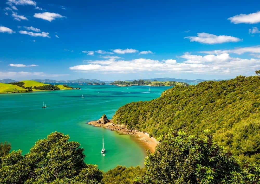 Your itinerary for the beautiful Bay of Islands.