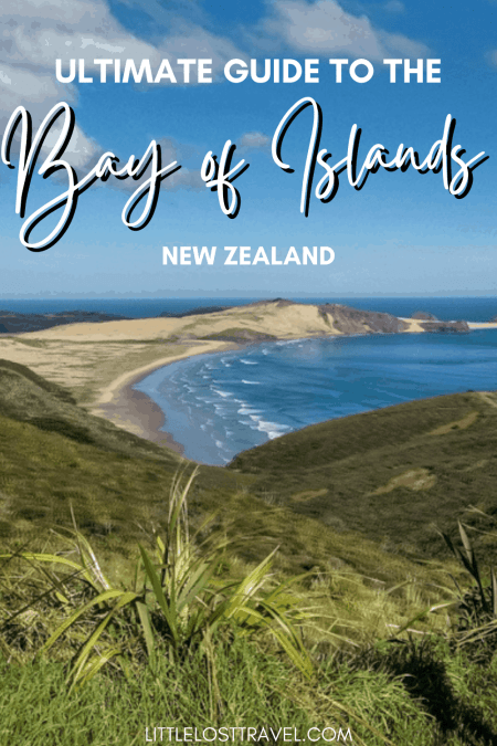 Pinterest pin for bay of islands itinerary