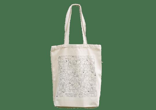 Everyday Plastic tote bag.