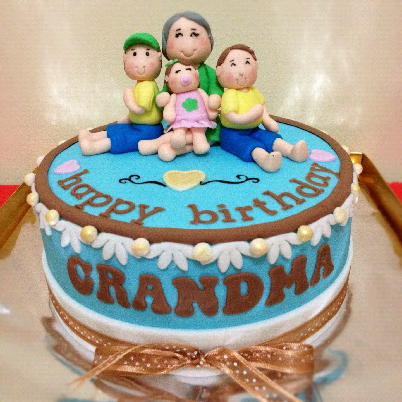 Birthday Cake For Grandma