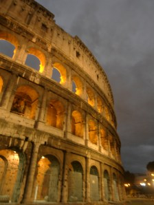Collesium at Night - Rome, Italy