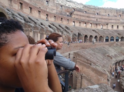 We lost my uncle in the Collesium! - Rome, Italy