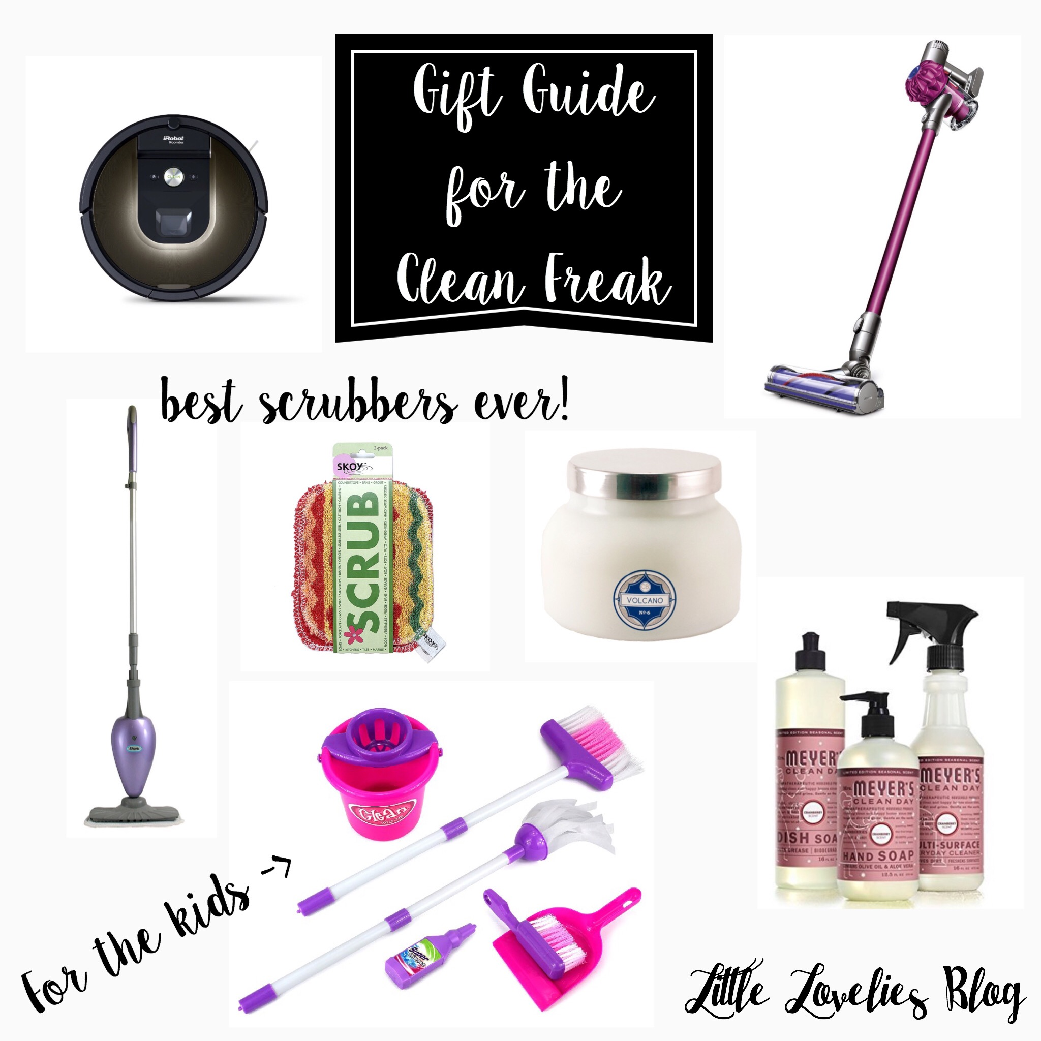 Holiday Gift Guide for the Clean Freak - Little Lovelies Blog
