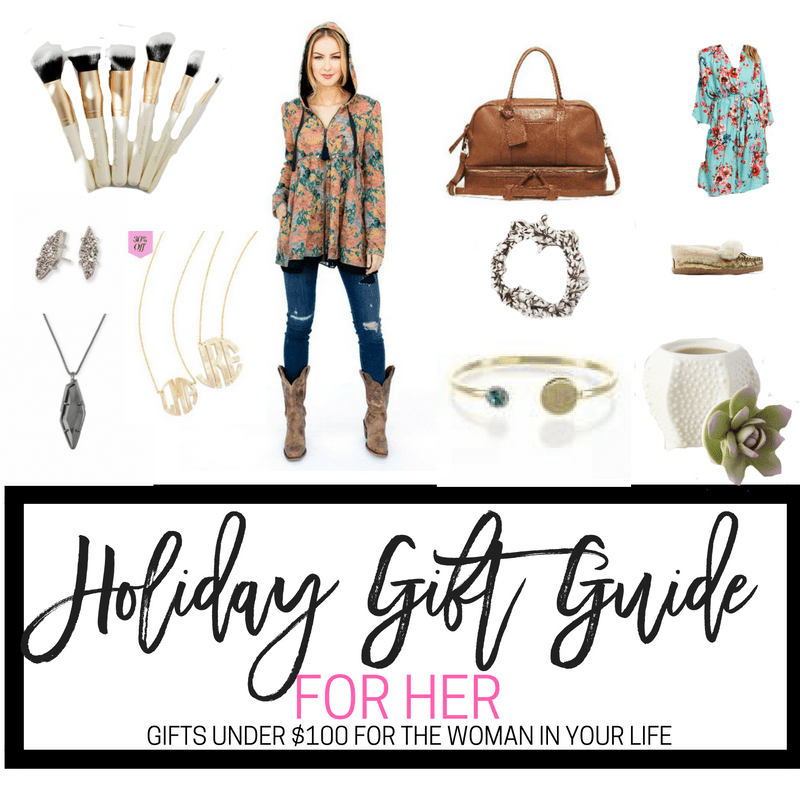 HOLIDAY GIFT GUIDE FOR HER GIFTS FOR UNDER $100 BEST GIFTS FOR WOMEN, MOMS, SISTERS AND FRIENDS ALL UNDER $100