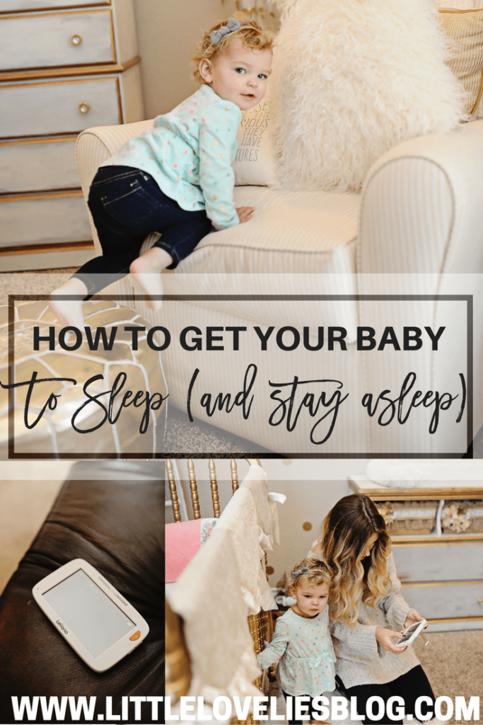 how to get your baby to sleep through the night and stay asleep + win a levana monitor!