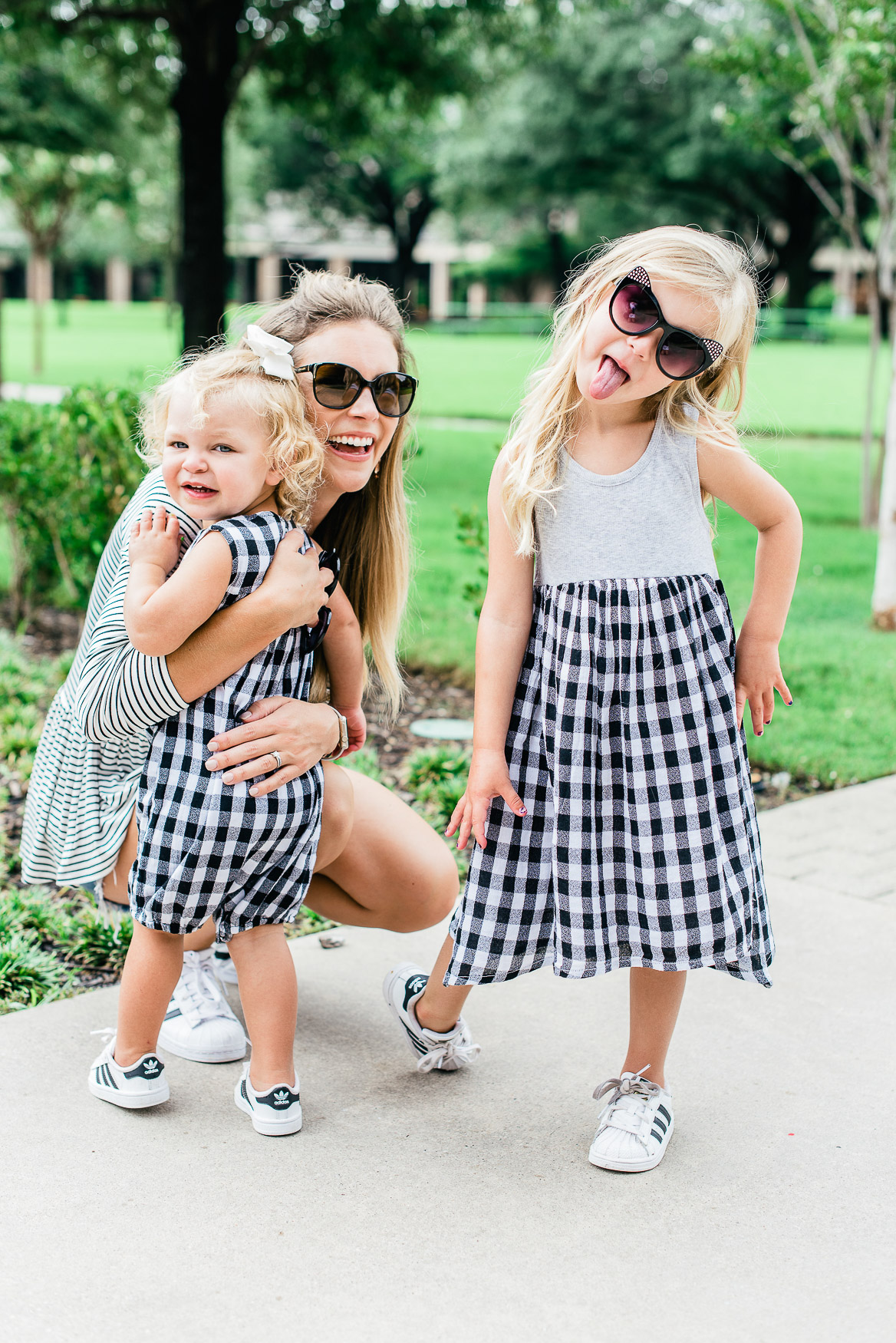 Black and White Gingham Nordstrom Toddler Tucker + Tate Outfits
