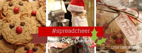 Rudolph Reindeer Cookies to #spreadcheer