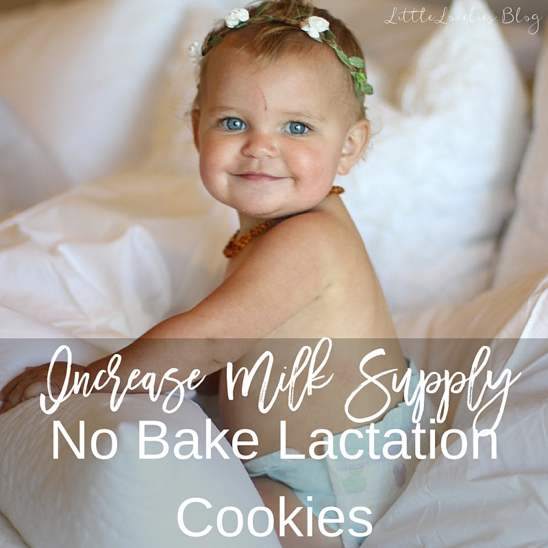 Increase Milk Production with Dairy Free No Bake Lactation Cookies