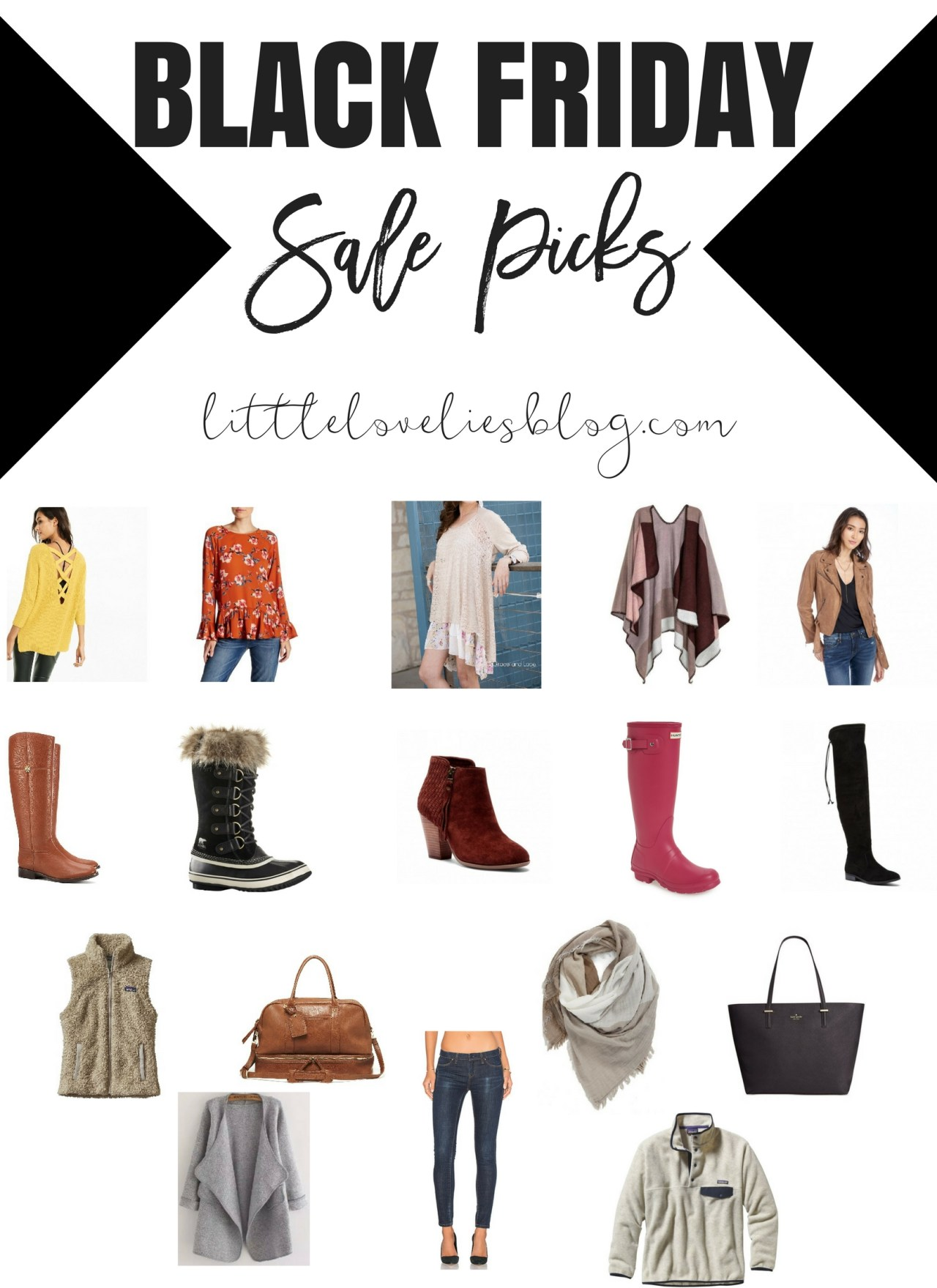 The Motherload of Black Friday Sales + My Favorites