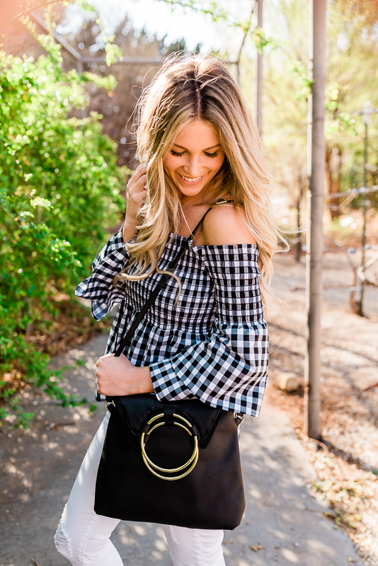 Spring Gingham From Day to Date Night