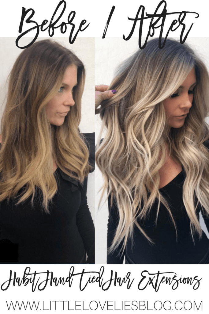 Everything To Know About Habit Hand Tied Hair Extensions Little