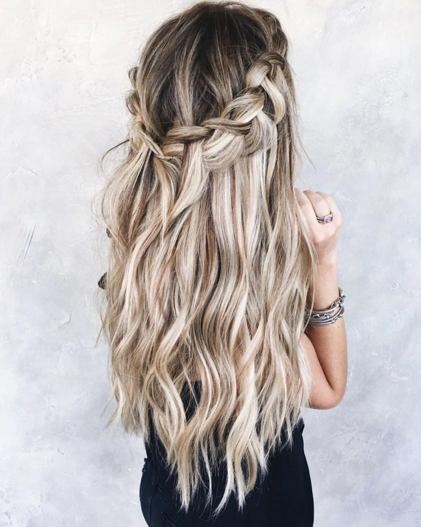 balayage blonde bronde hair