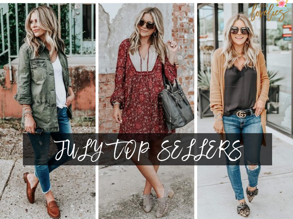 July's Top Sellers
