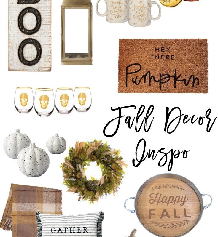 Fall Decor Round-Up