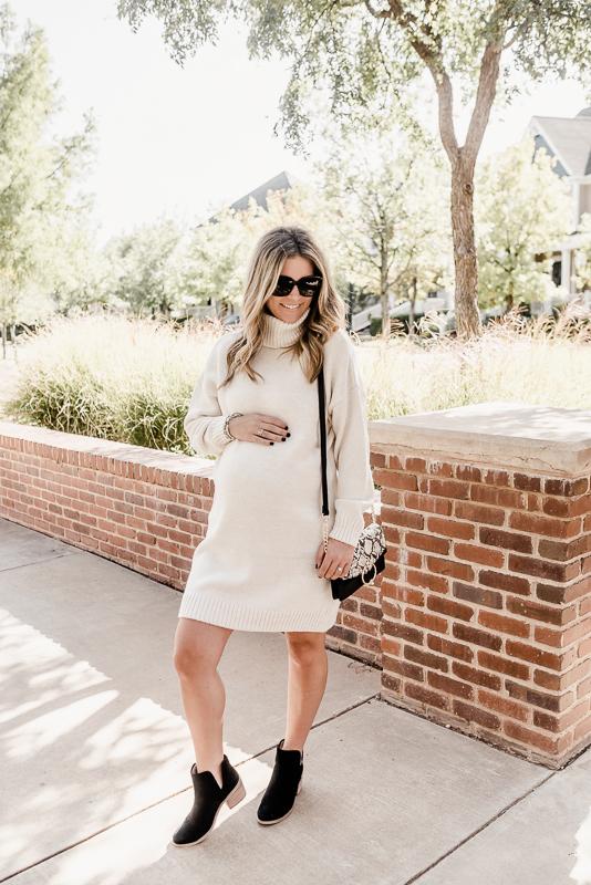 Turtleneck Sweater Dress Topshop
