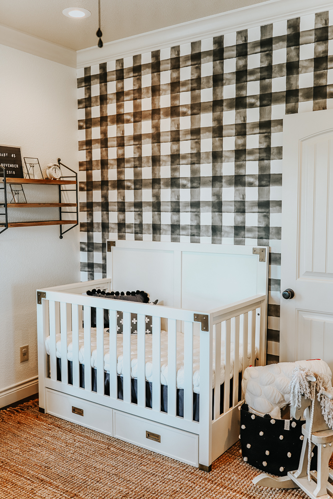 gender neutral monochrome nursery