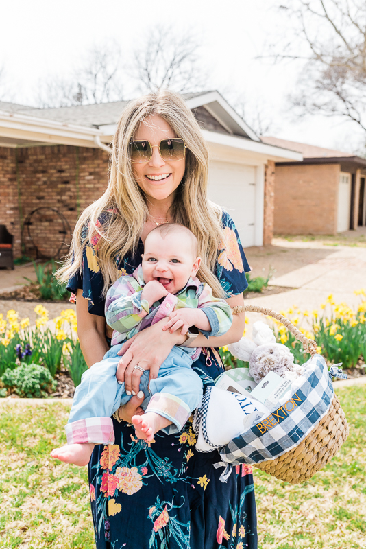 Baby's First Easter with Pottery Barn Kids