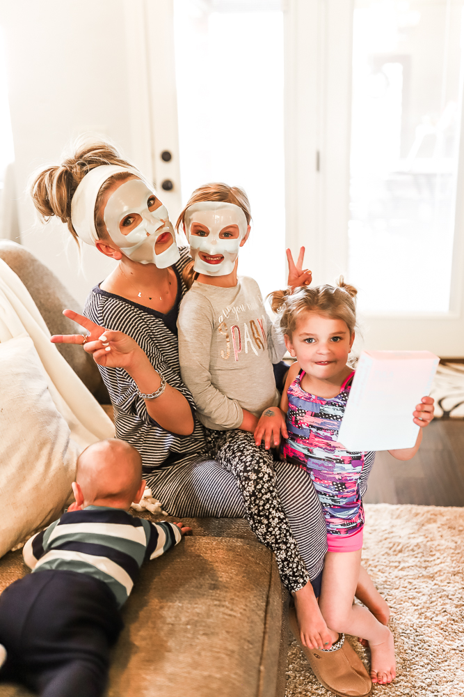 Girls Night In with Tula's New Hydrogel Mask