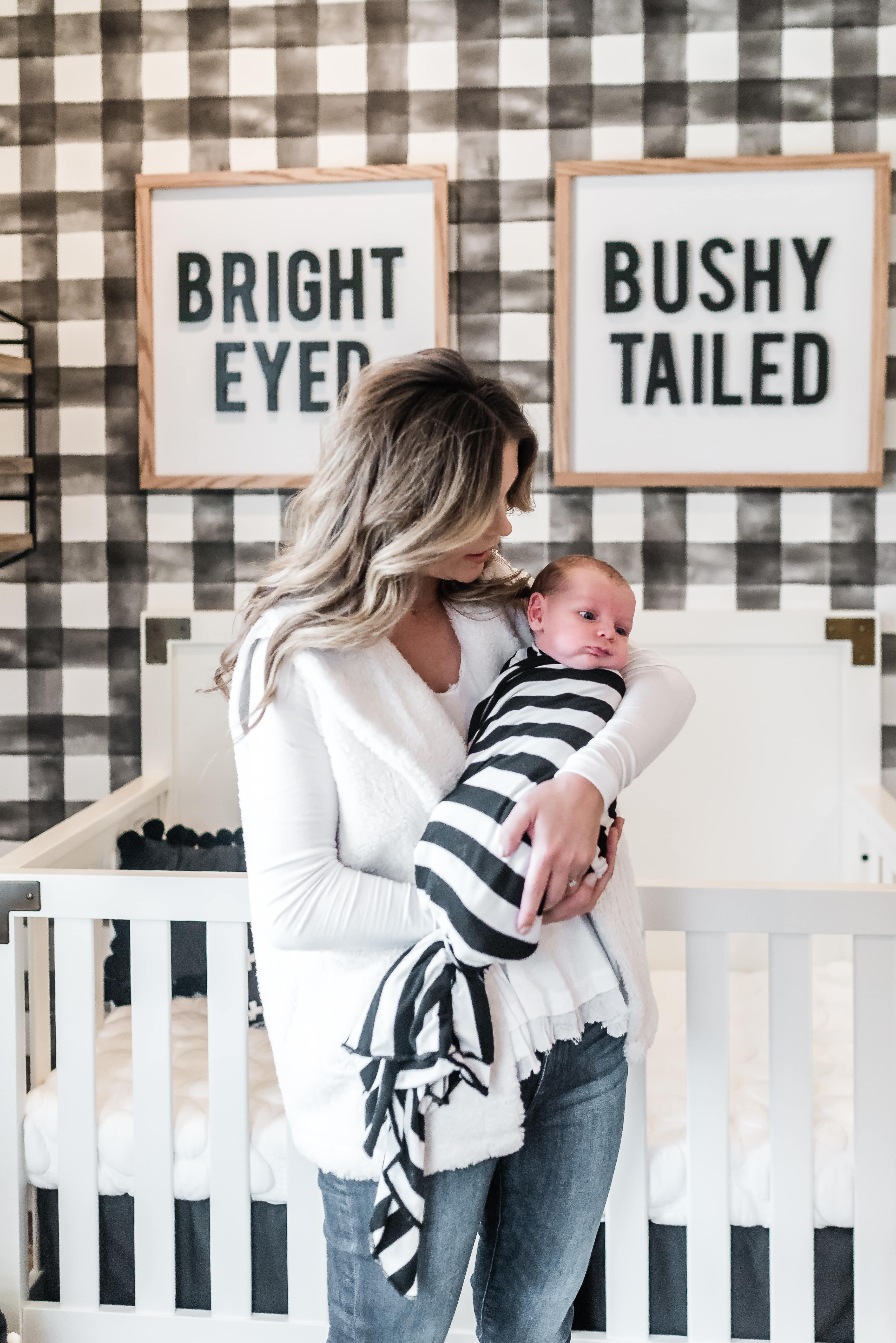 Life & Style Blogger Ashlee Nichold shares afforable nursery finds from Walmart. She makes her top 10 nursery furniture picks from the Walmart baby sale.