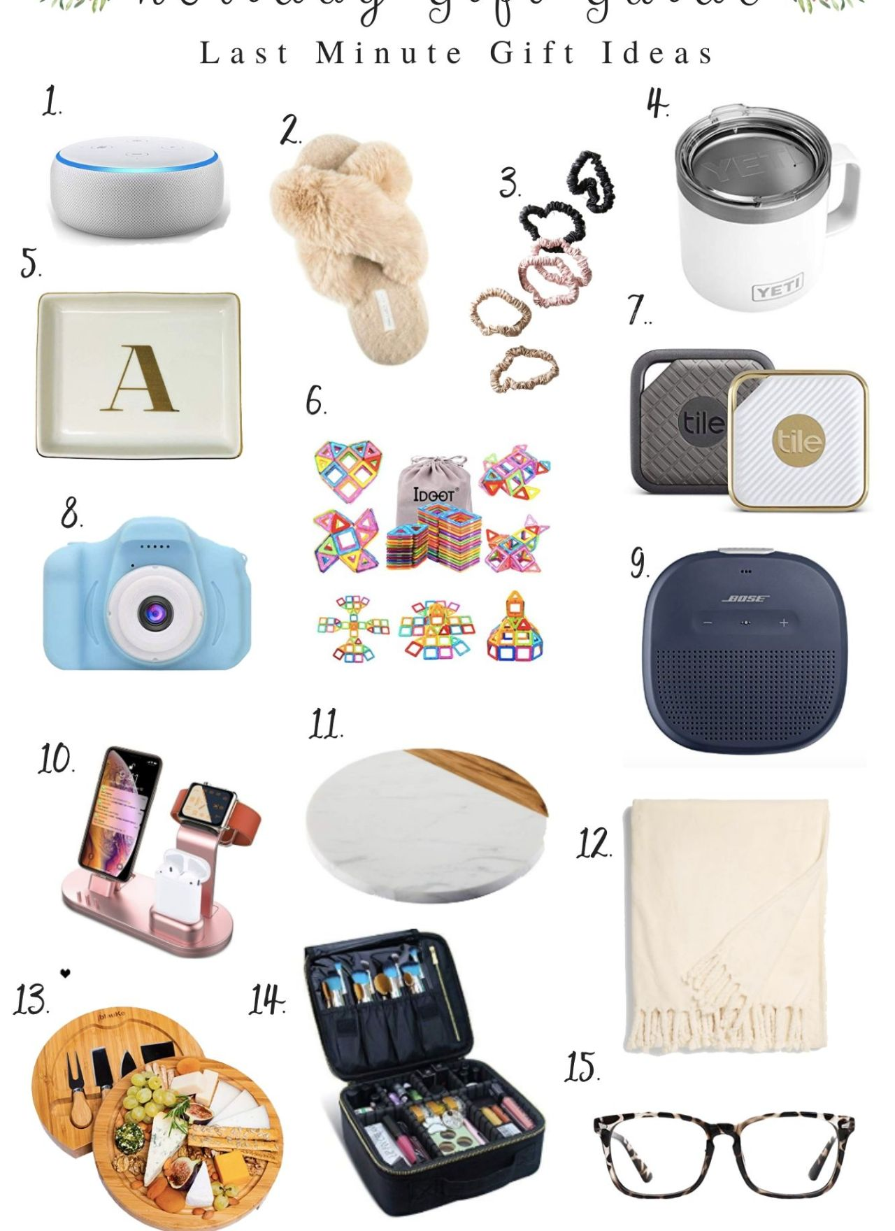 Holiday Gift Guide // Last Minute Gift Ideas