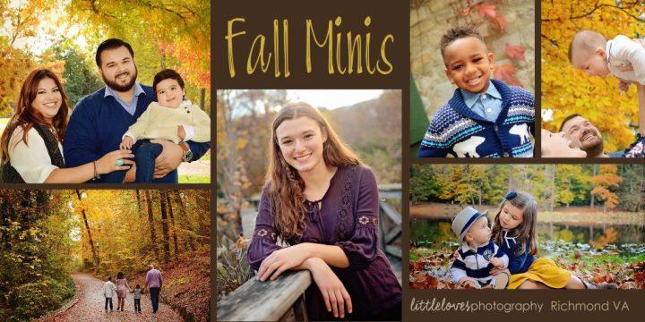 Fall Mini-Sessions 2018