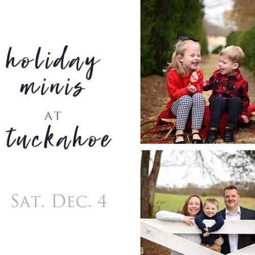 Holiday Minis at Historic Tuckahoe