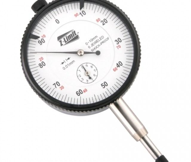 Dial Indicator 10 Mm X 0 01 Mm Professional Grade Shock Resistant