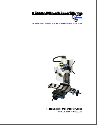 Users Guide, HiTorque Mini Mill, Tilting Column, 3900 4925