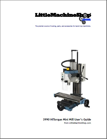Users Guide, HiTorque Mini Mill, Solid Column with Air